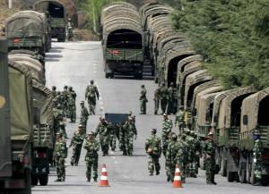 Китай продолжает стягивать войска к границе с Приморьем