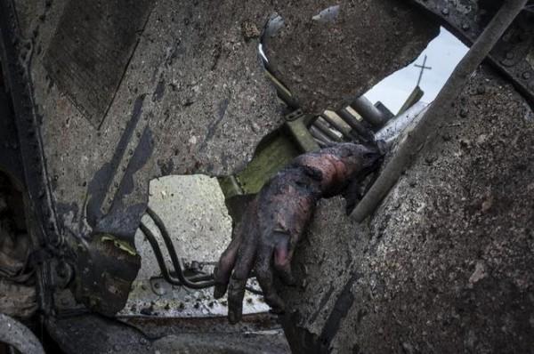 Доказательство сбития малайзийского Боинга российским БУКом