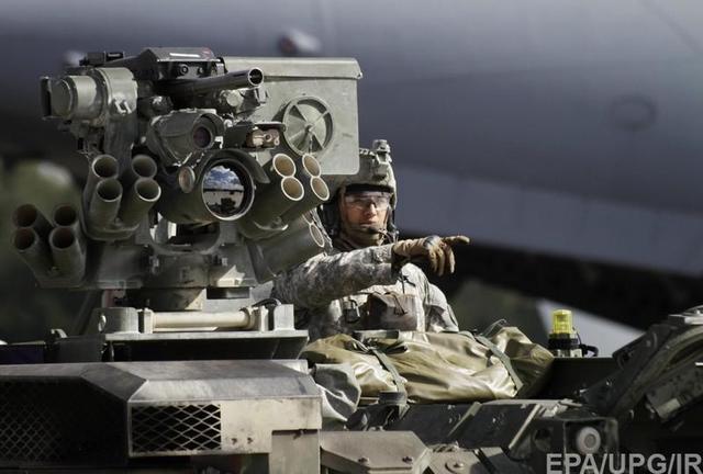 НАТО направляет на границу с Россией силы быстрого реагирования