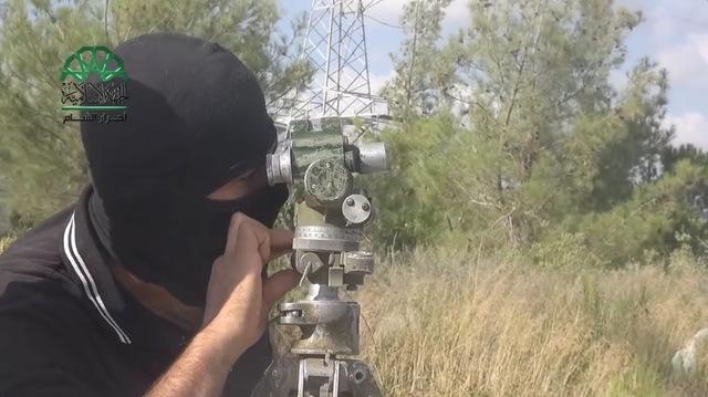 Повстанцы показали, как из «Градов» обстреляли российскую авиабазу в Сирии