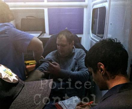Пьяный милиционер, устроивший ДТП, притворился пешеходом