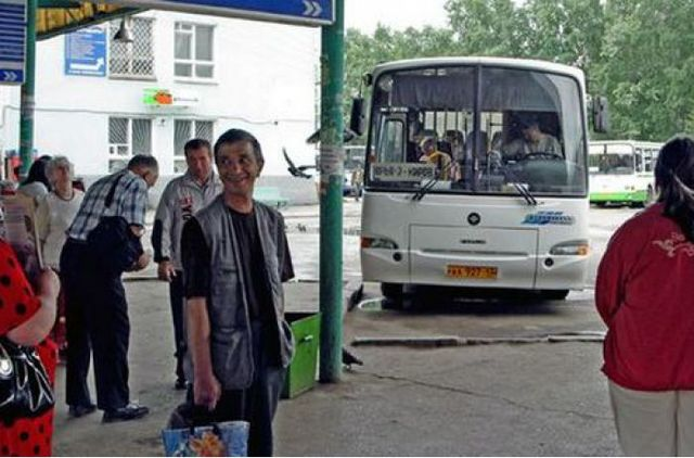Из маршрутки Харьков-Полтава водитель выбросил избитого им пассажира