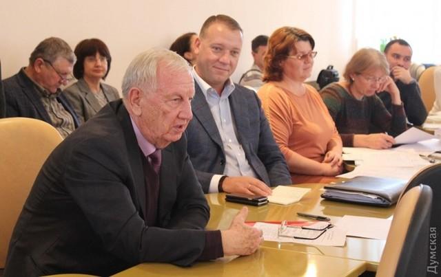 Мэр Черноморска Хмельнюк взял в свои заместители экс-директора ИМТП Юрия Крука