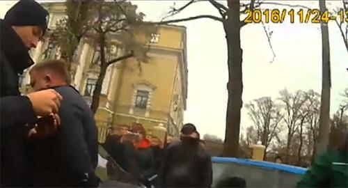 Охранники VIP-детей избили полицейских на парковке у школы