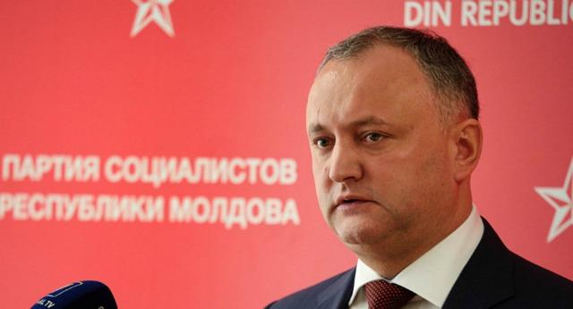Президента Молдовы Додона в любой момент пустят в Украину