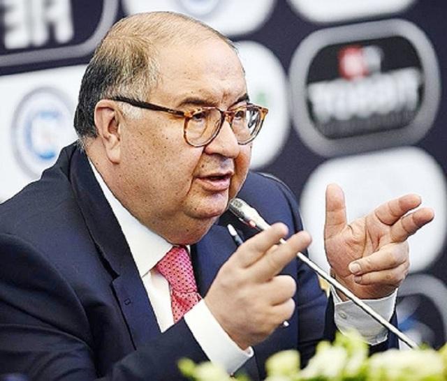 «Солнцевский» футбол Алишера Усманова