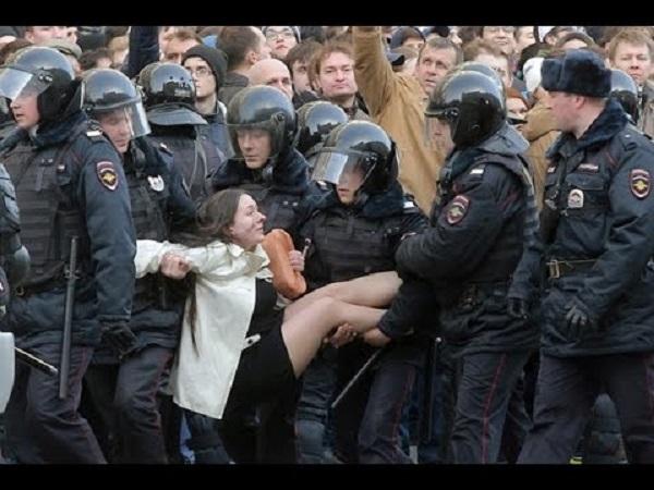 Путина оштрафовали на 10 тысяч рублей за несогласованный митинг