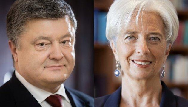 Глава МВФ похвалила Гонтареву и запуск реестра возмещения НДС