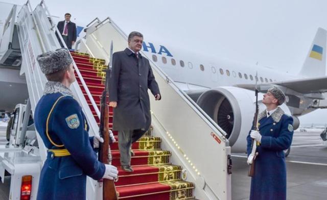 В этом году перелеты Порошенко обойдутся украинцам в 35 миллионов грн