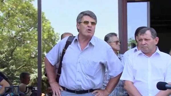 Заказчик митингов и организатор постоянных беспорядков- вице-мер Черноморска Крук