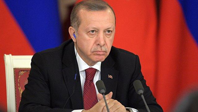 Эрдоган заявил, что Турция готова поддержать военную операцию США в Сирии