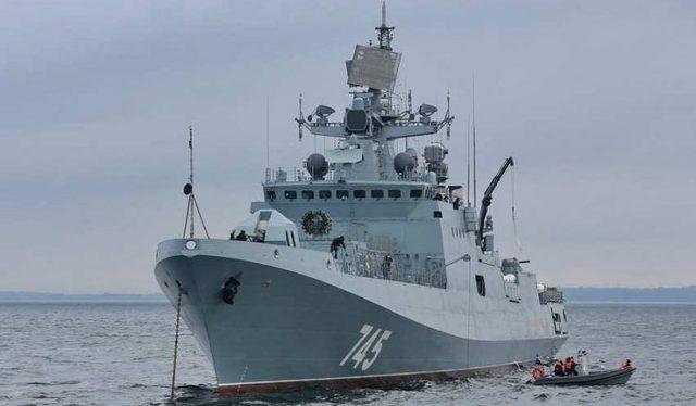 Прославленный российский фрегат «Адмирал Григорович» терпит крушение у берегов Сирии