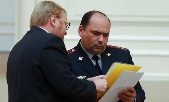 В Петербурге умер генерал-майор полиции Константин Власов