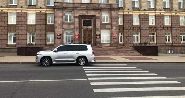 Губернаторское авто оштрафовали за нарушение правил в Белгороде
