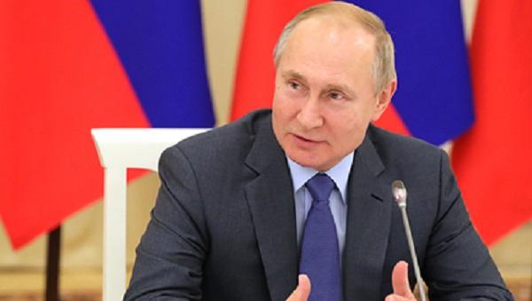 Путин нашел ахинею на российском телевидении