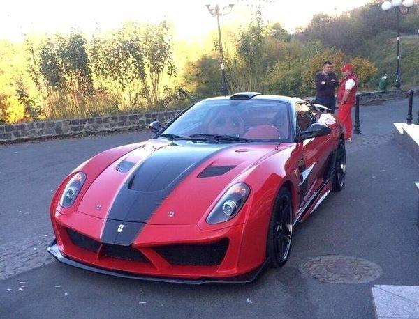 Ferrari для экс-прокурора, который намерен вернуться
