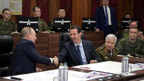 Путин рассказал об успехах России и Сирии в борьбе с терроризмом