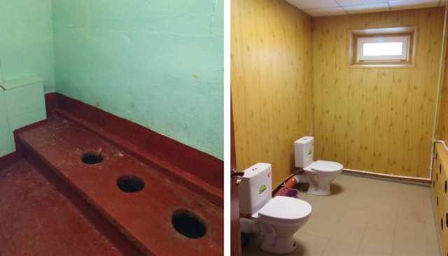 Южноуральский мэр похвалился школьными туалетами без перегородок