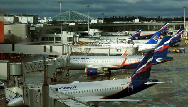 Россия полностью прекращает авиасообщение с другими странами