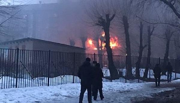 Задержан принесший газовый баллон и подорвавший дом в Магнитогорске