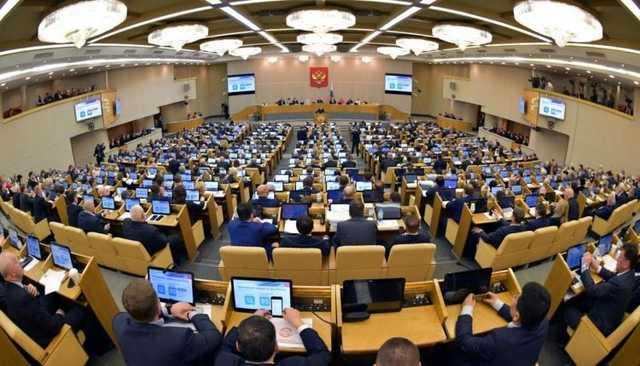 Госдума планирует уйти на карантин в конце следующей недели