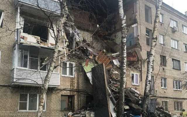 Семьям погибших при взрыве в доме в Подмосковье выплатят по миллиону рублей