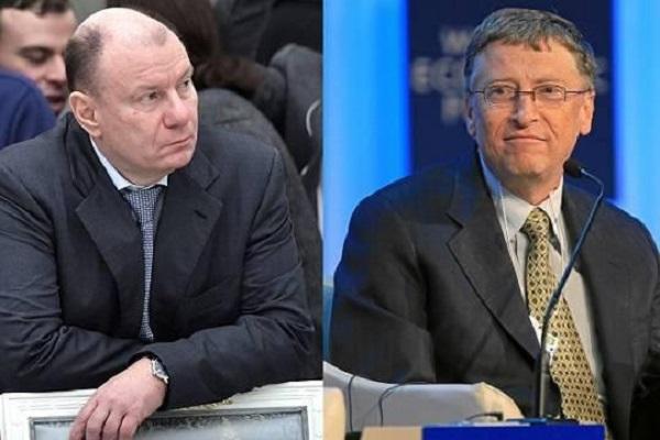Может ли Владимир Потанин оказаться богаче Билла Гейтса?