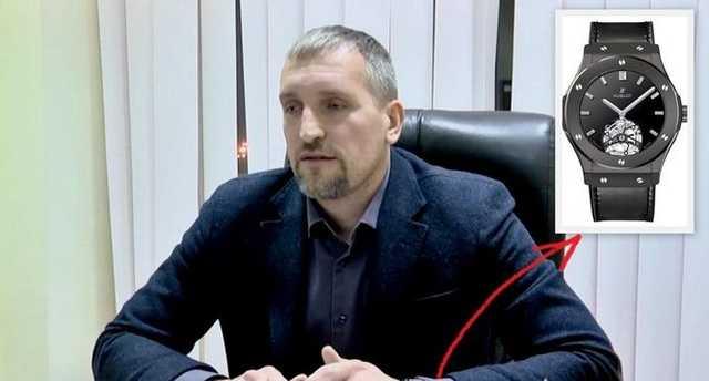Муж генпрокурора Венедиктовой носит часы Hublot с бриллиантами за полтора миллиона гривен