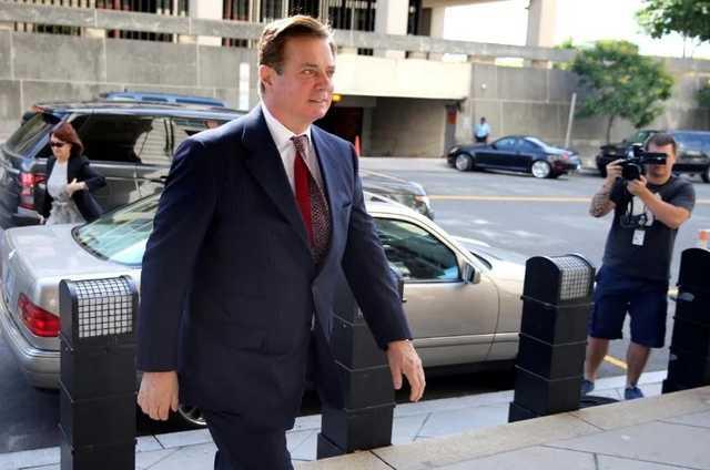 Бывший глава предвыборного штаба Трампа Манафорт переведен под домашний арест