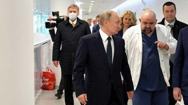 Песков рассказал, как общался с Путиным, уже будучи зараженным коронавирусом