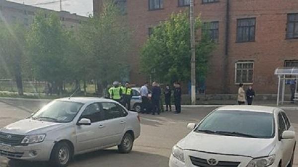 Экипаж ГИБДД сбил молодую россиянку на пешеходном переходе