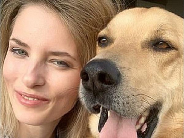 Актрису и модель L'Oreal изуродовал и едва не лишил глаза пес, которого она взяла из приюта