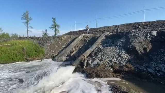 «Норникель» при полном попустительстве главы Росприродназора Светланы Радионовой слил тонны ядовитых отходов в реку