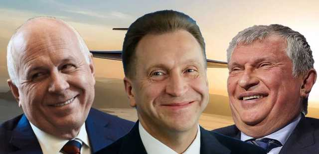 Карантин без границ - куда летают в пандемию Сечин, Чемезов и Шувалов