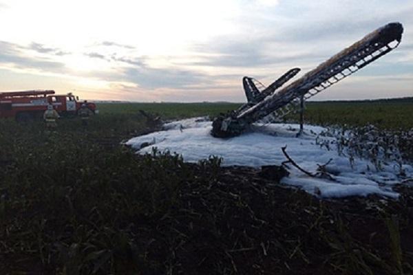 В России при падении самолета Ан-2 погиб человек