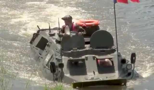 Министр обороны Молдовы «словил леща» на полигоне