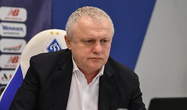 Суркис рассказал о реакции Ахметова на переход Луческу в «Динамо»