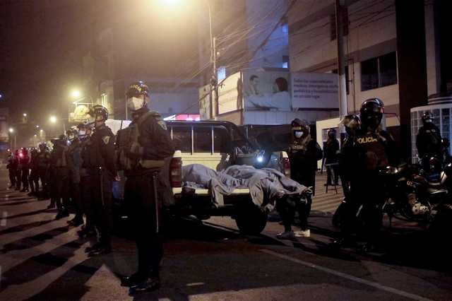 В Перу во время полицейского рейда в ночном клубе погибли 13 человек