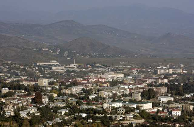 Появилось видео обстрелов в Нагорном Карабахе