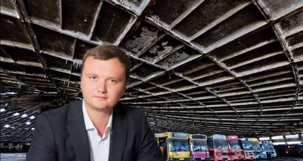 Как в Киеве дерибанят автопарк №7