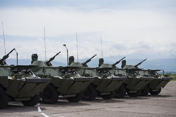 Россия передала ЦАР партию бронемашин БРДМ-2
