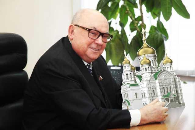 Депутат Государственной Думы от Москвы Владимир Ресин продолжает курировать программу «200 храмов»