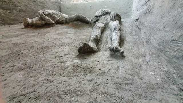 В Помпеи нашли останки погибших при извержении Везувия